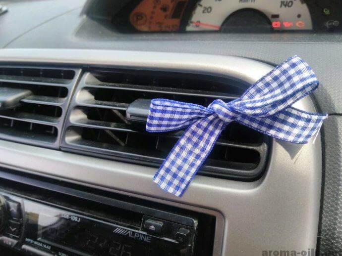 車の嫌な匂い対策にアロマ